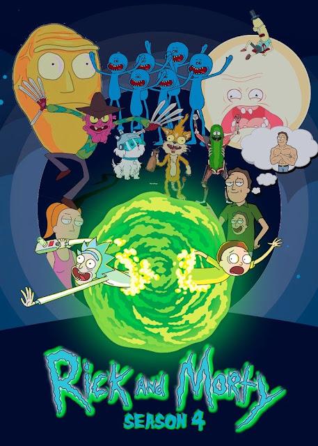 Série TV Rick et Morty L'Agenda Mensuel - Novembre 2019