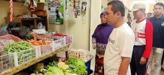 Bupati Meminta Agar Pasar Klojen Bisa Tertata Rapi dan Bersih