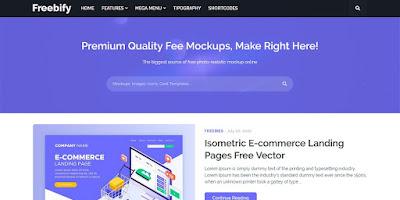 Freebify v1.0.0 Premium Blogger Template Free