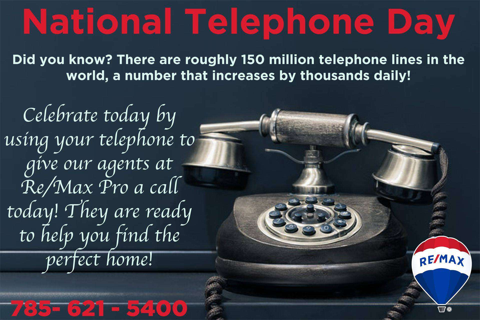 National Telephone Day Wishes Awesome Picture