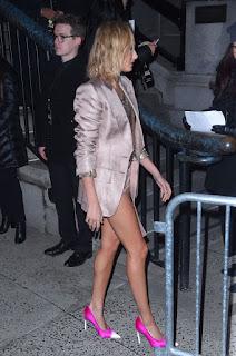 Hailey Baldwin Arrives At Tom Ford Fashion Show At New York Fashion Week 2018