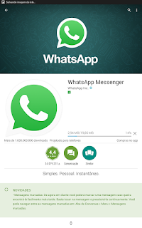 Como faço o download do WhatsApp