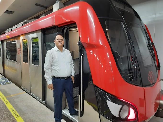 लखनऊ मेट्रो : 3.25 करोड़ पहुंची यात्री सेवा की शुरुआत से अब तक की कुल राइडरशिप
