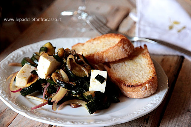 fare le zucchine all'aceto
