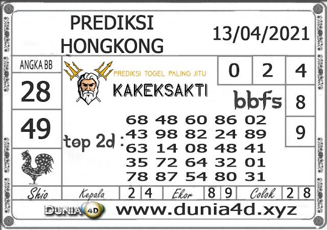 Prediksi Togel HONGKONG DUNIA4D 13 APRIL 2021