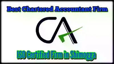 Best CA - Chartered Accountant | Office | CA Firm | in Shimogga | Karnataka | CA BVR