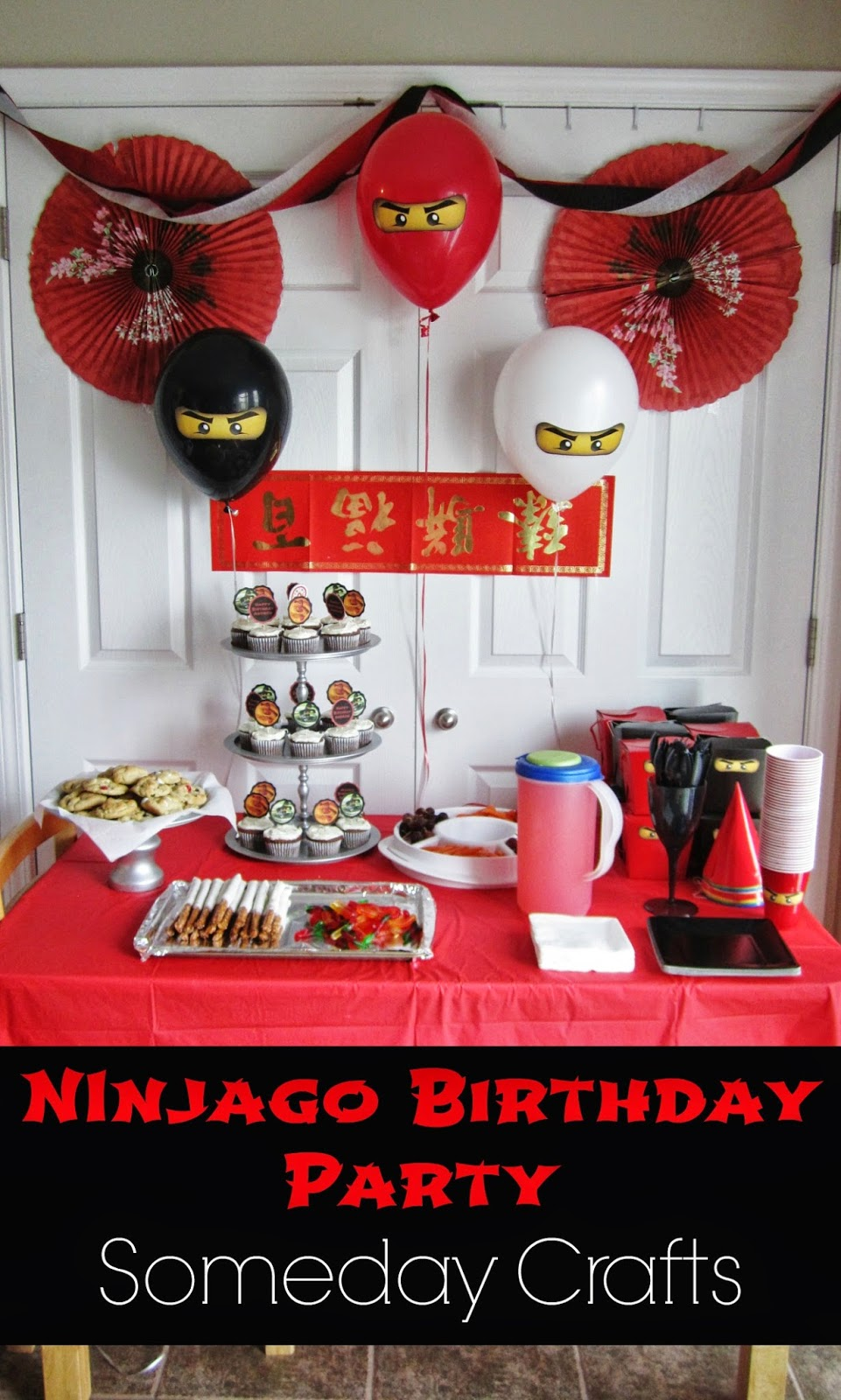 Someday Crafts Ninjago Birthday Party