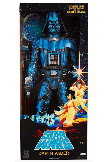 "osw.zone Jakks Pacific has released pictures of her SDCC 2017 Exclusive Darth Vader 20-inch figure, which is painted and packaged.  Jakks Pacific SDCC (San Diego Comic Con) 2017 Exclusive: Darth Vader 20 ""Action Figure"