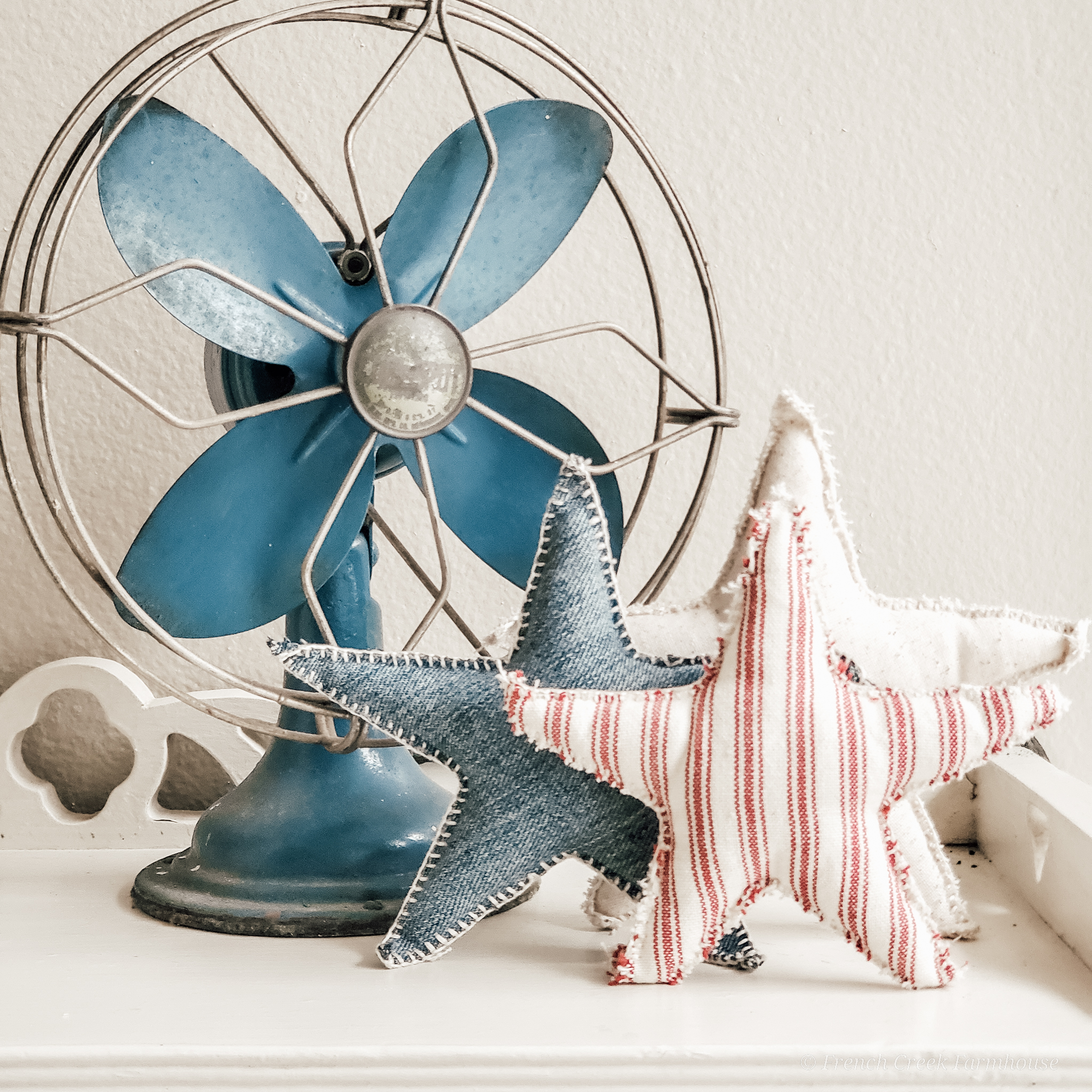 These stars are perfect for tucking into shelves