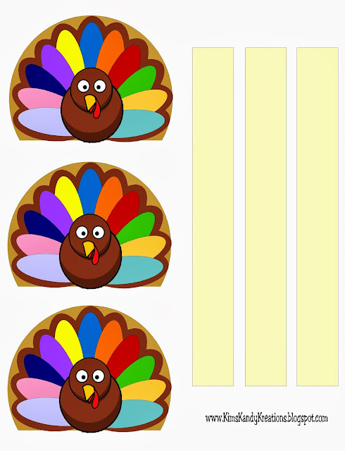 Printable Turkey Napkin Holder