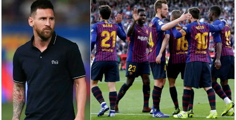 Reports: Three Barcelona stars not chatting to Lionel Messi for favouring Neymar over them