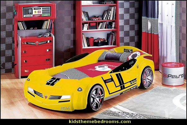Car Themed Bedrooms for Teenagers boys cars  car beds for kids  car themed room for toddlers