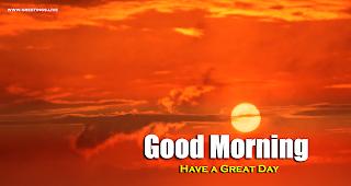Beautiful sunrise Good Morning Wishes