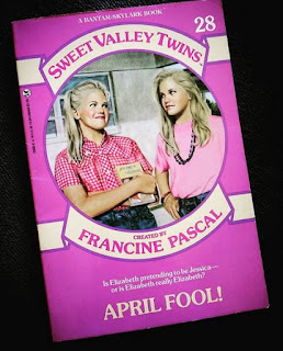 april fool sweet valley twins #28 francine pascal