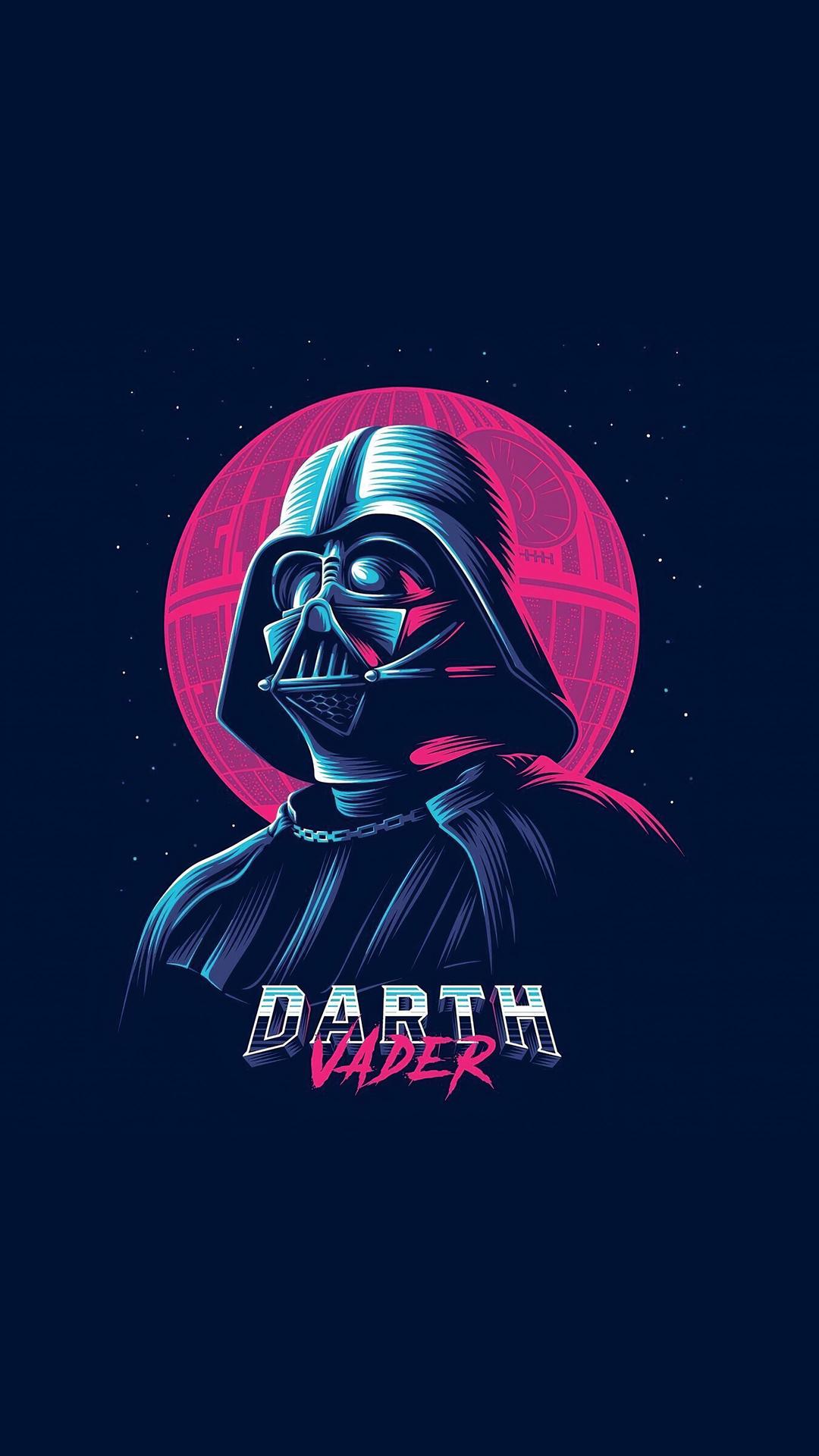 Darth Vader Minimal Wallpaper
