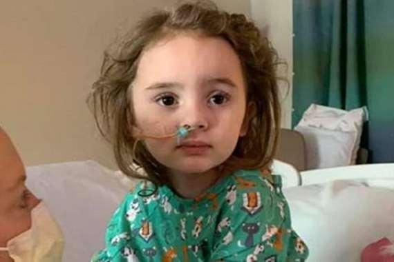 """طفلة تصاب بالعمى بسبب """"الأنفلونزا"""""""