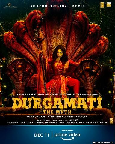 Durgamati: The Myth (2020) Full Hindi Movie 480p 1080p Download HD