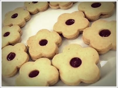 Biscoitos amanteigados - Crémage