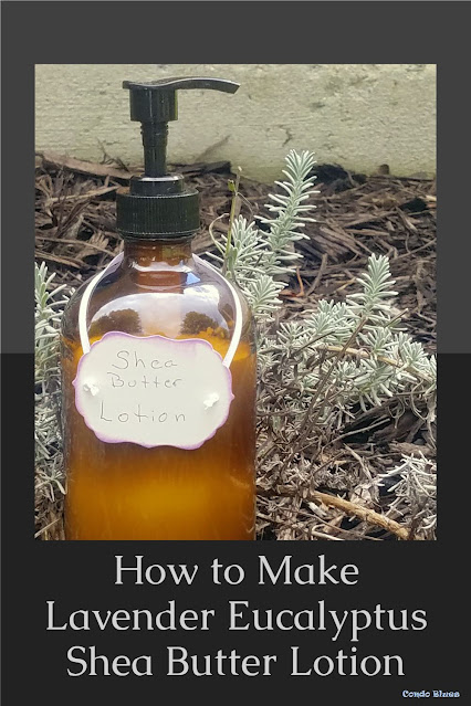 quick and easy Shea butter lotion recipe
