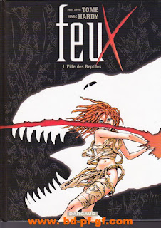 Feux, fille des reptiles, Tome 1, par Tome et Hardy, 2005