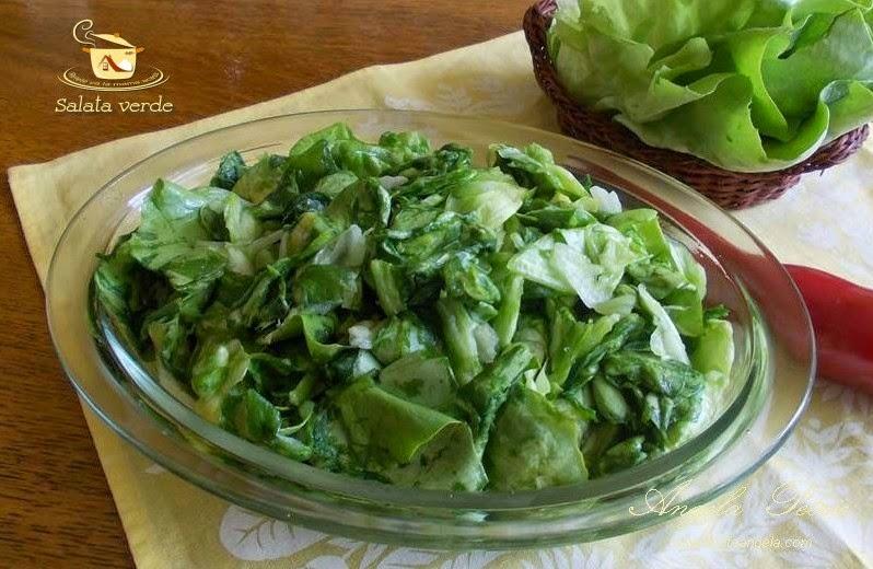 Salata de salata verde