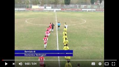 Sintesi della partita Ovidiana - Campo di Giove del 3 dicembre 2016 finita 1-1