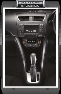 Interior New Swift Audio