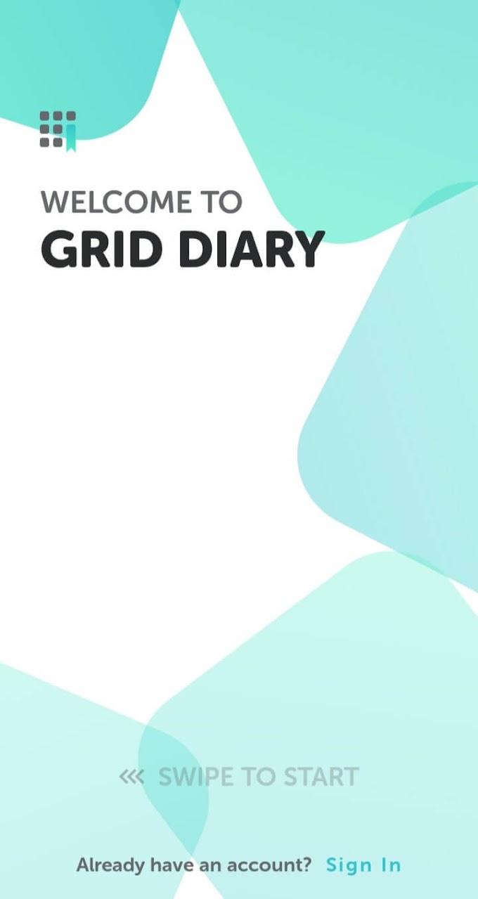Grid Diary, Aplikasi Catatan Harian Paling Keren