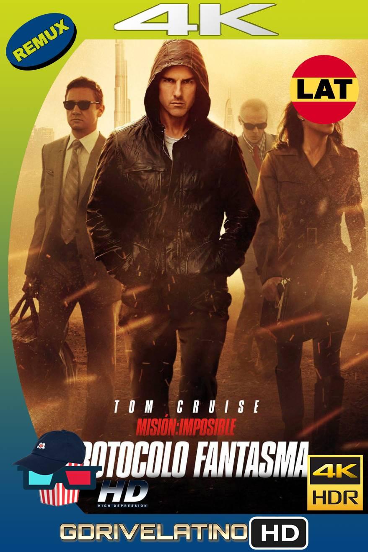 Misión imposible: Protocolo Fantasma (2011) BDREMUX HDR Latino-Castellano-Ingles MKV
