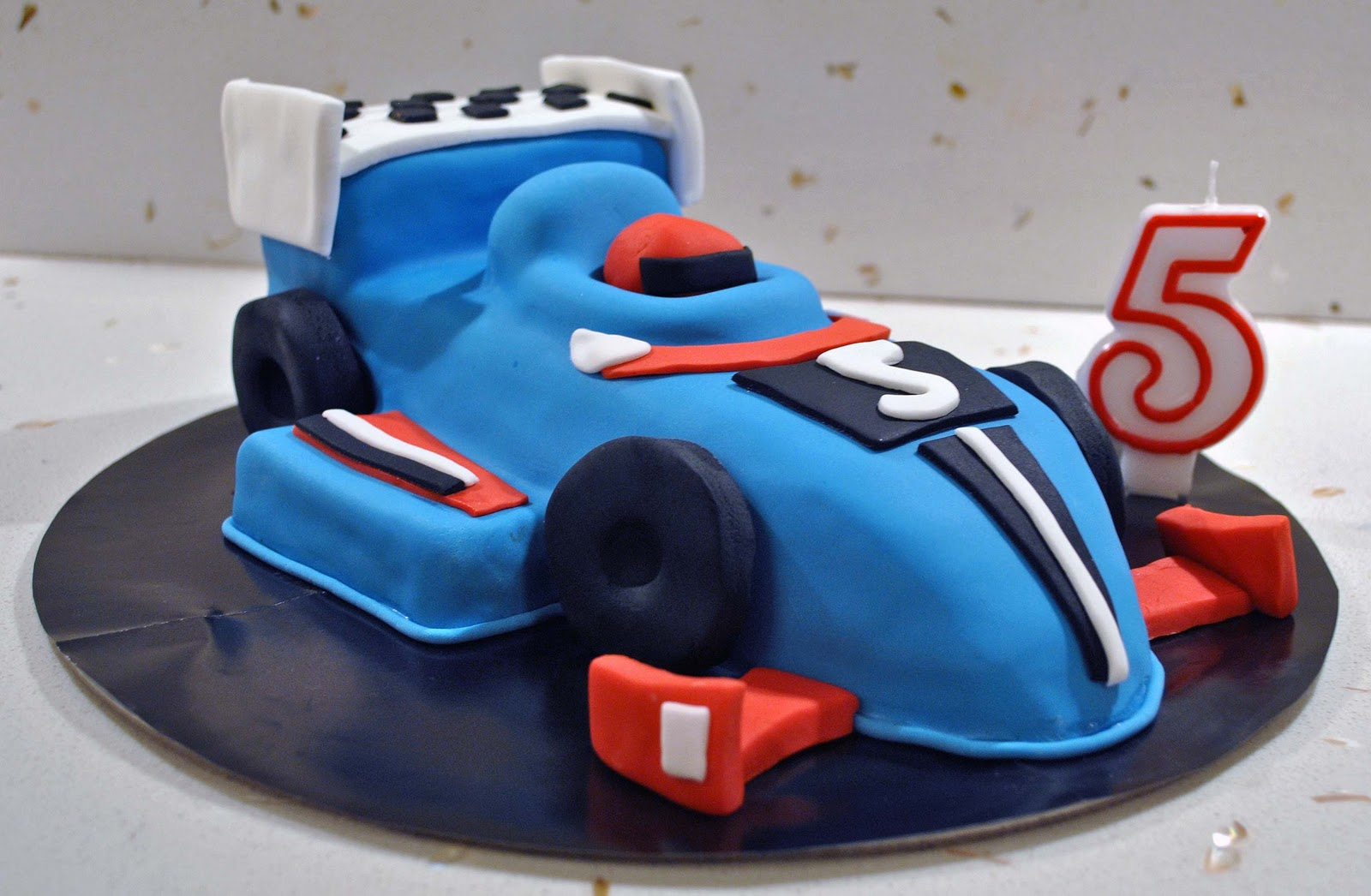 How To Make A Carved Car Cake