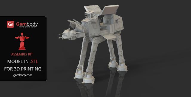 Star Wars AT-AT 3d model