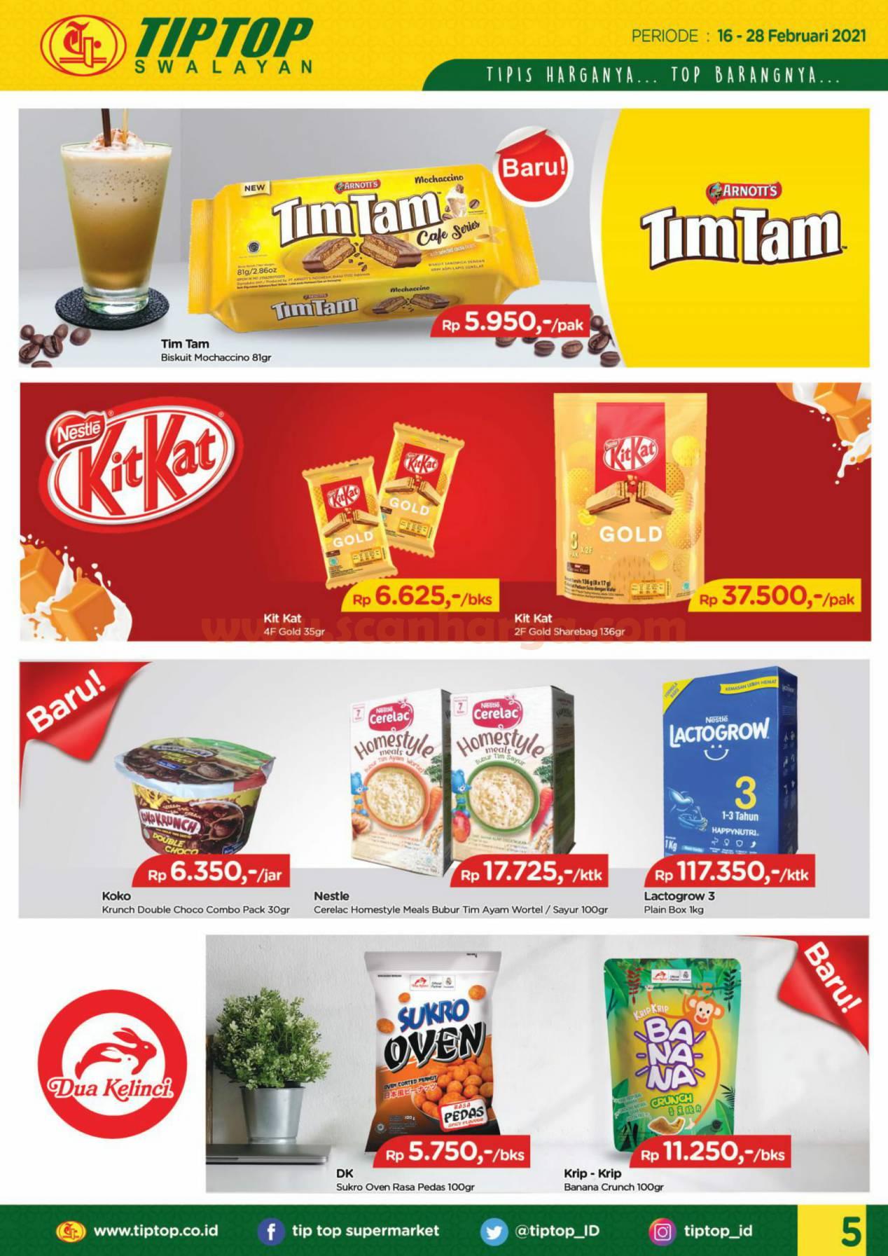 Katalog Promo Tip Top Pasar Swalayan 16 - 28 Februari 2021 5