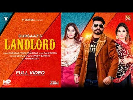 Landlord Lyrics Gurlez Akhtar X Gursaaz