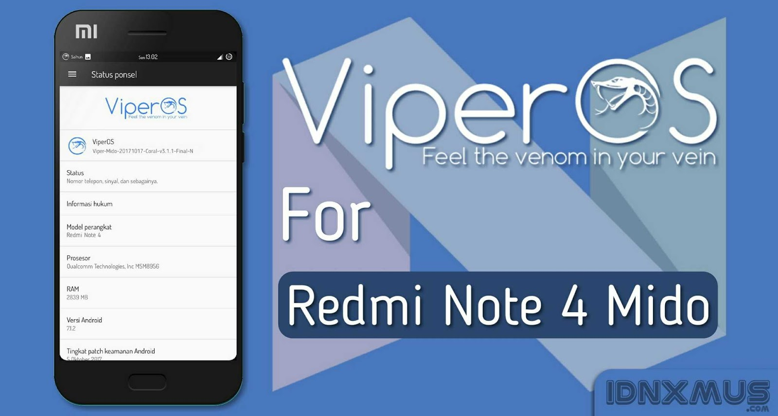 Viper Os Redmi Note 3 Download — TTCT