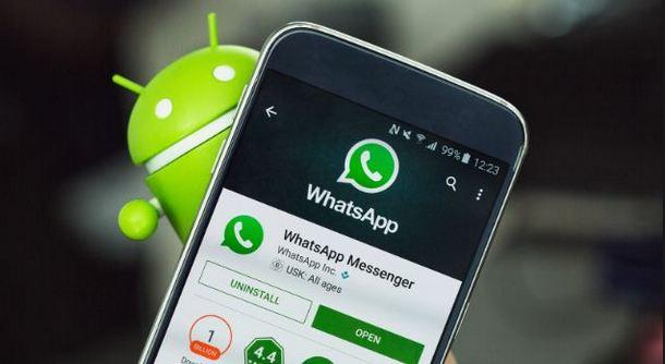 Ilustrasi WhatsApp Android