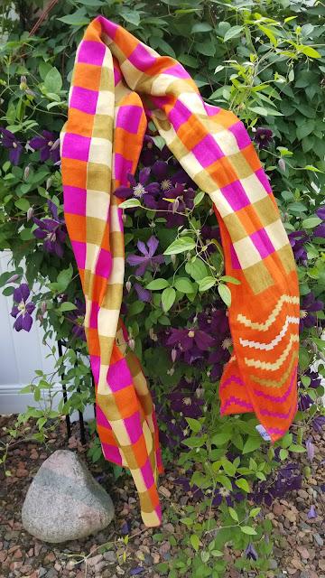 One of a Kind Sari Scarf
