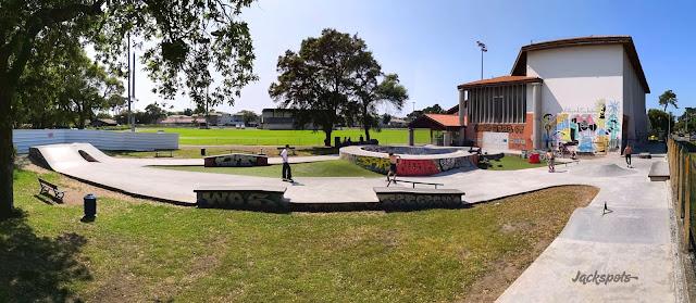 Skate park Capbreton