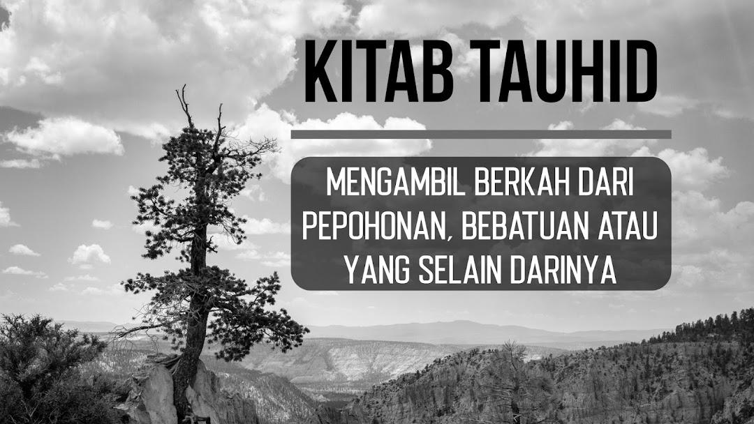 Kitab Tauhid: Mengambil Berkah dari Pepohonan, Bebatuan atau yang Selain Darinya