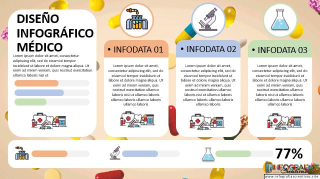 Plantilla de infografía en PowerPoint 5