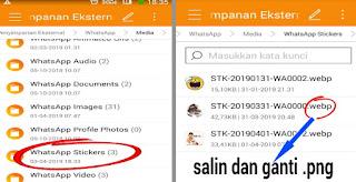 Cara Menyimpan Stiker WhatsApp yang di Kirim Teman