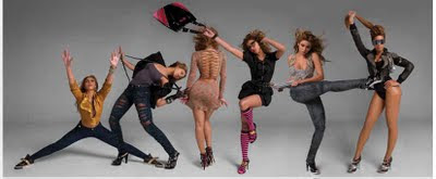 Girls My World: Beyonce's New Dereon Ad