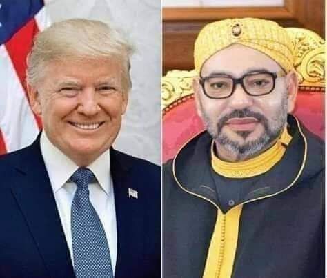 دونالد ترامب يفي بوعده التاريخي اتجاه المملكة المغربية و يحقق اخر بندين من الإعلان الثلاثي قبل موقعة ال20 فبراير .........