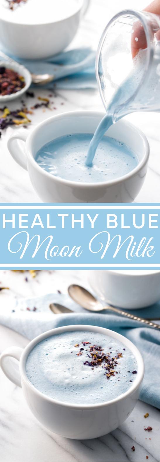 Blue Moon Milk #healthy #drinks #milk #warm #beverages