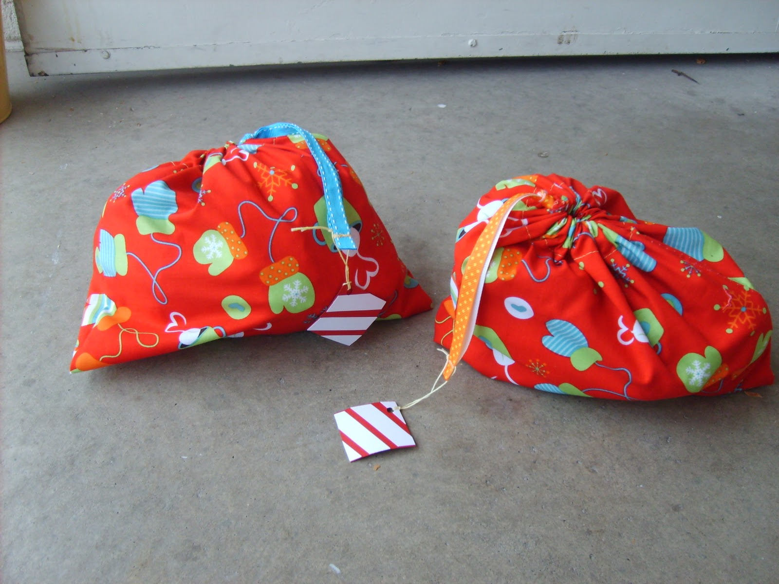 Drawstring Bag DIY Tutorial
