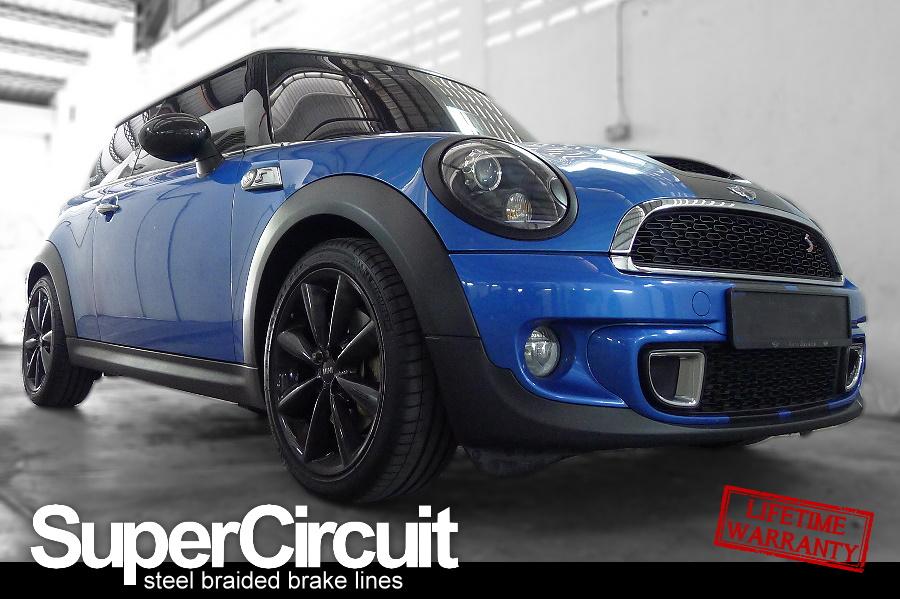 Supercircuit Steel Braided Brake Lines Mini Cooper S R56 Steel