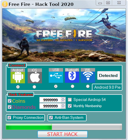 Free Fire Hack Tool Here Download