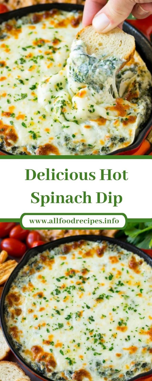 Delicious Hot Spinach Dip