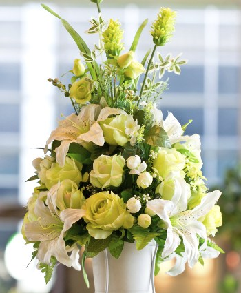 White Drooping Flowers Decoration