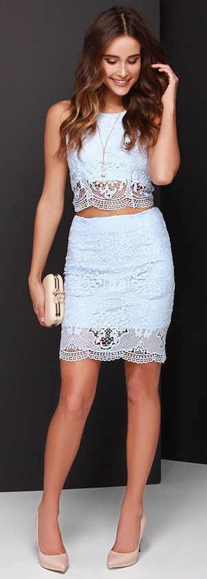 Fantastic Ways to Wear Lace Dresses This #SummerDresses