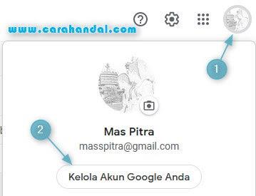 Cara Mengganti Nama Akun Gmail